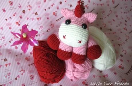 Free Pattern – Amigurumi Unicorn