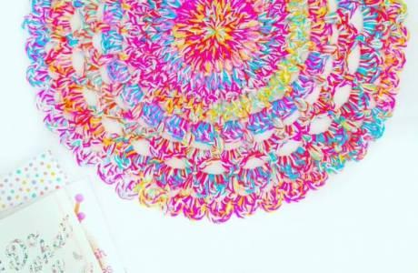 Chunky Crochet Floor Rug