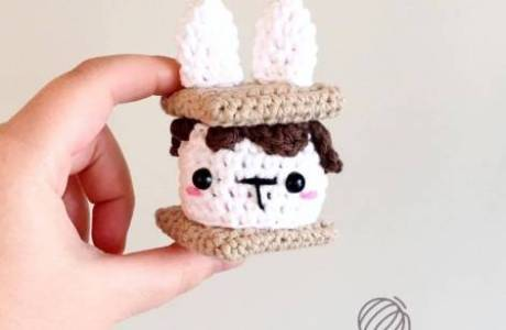 Smores Bunny Easter Pattern