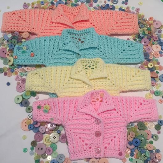 Neave Baby Jacket Pattern