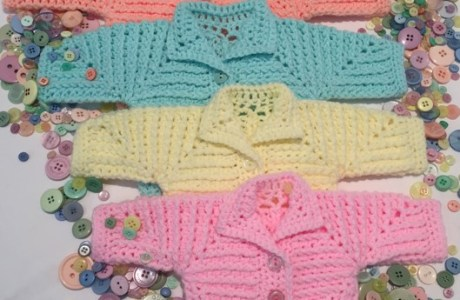 Neave Baby Jacket Pattern