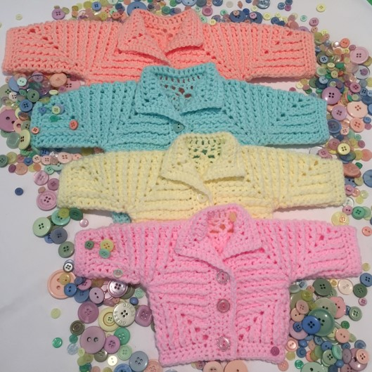 Neave Baby Jacket Pattern Crochet