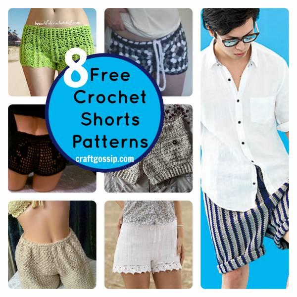 8 Summer Crochet Shorts Patterns