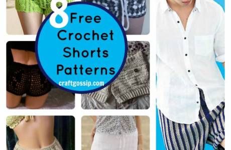 8 Summer Crochet Shorts Patterns