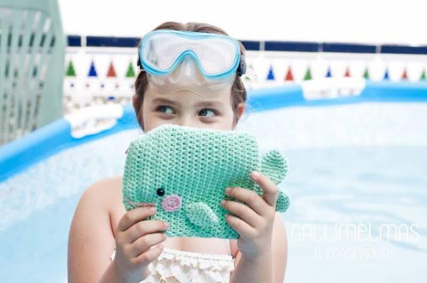 Crochet Pattern Whale Purse