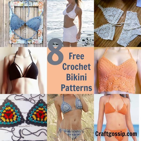 8 Crochet Bikini Patterns Crochet