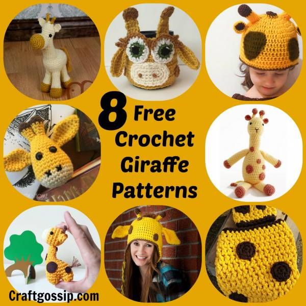 8 Giraffe Crochet Patterns Crochet