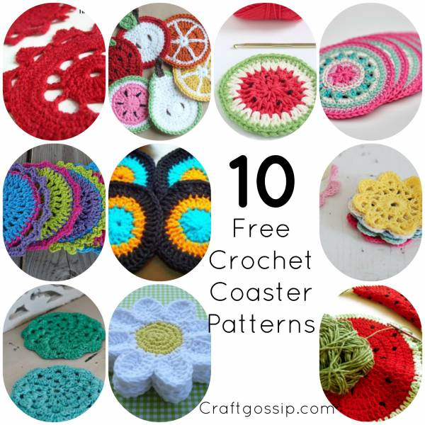 10 Easy Crochet Coaster Patterns Crochet