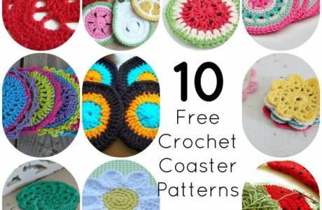 10 Easy Crochet Coaster Patterns