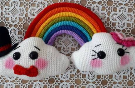 Amigurumi Crochet Pattern – Mr & Mrs Cloud