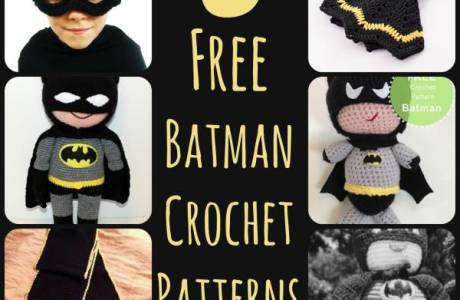6 Crochet Batman Patterns