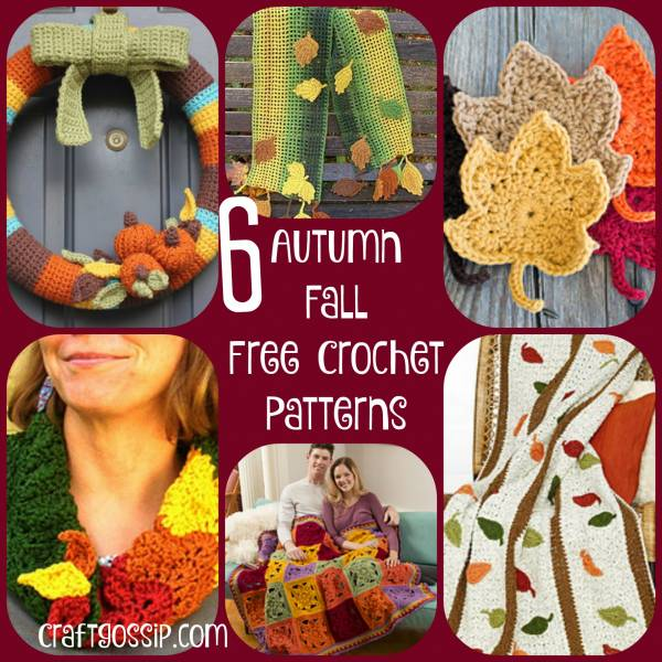 Fall Crochet Patterns Crochet
