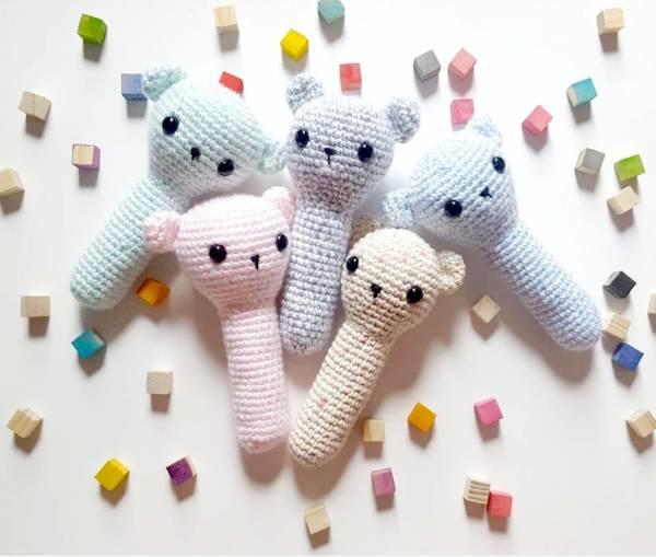 Crochet baby toys free pattern roundup - mallooknits.com | 509x600
