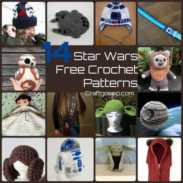 60b5e41fc87 14 Star Wars Crochet Patterns – Crochet