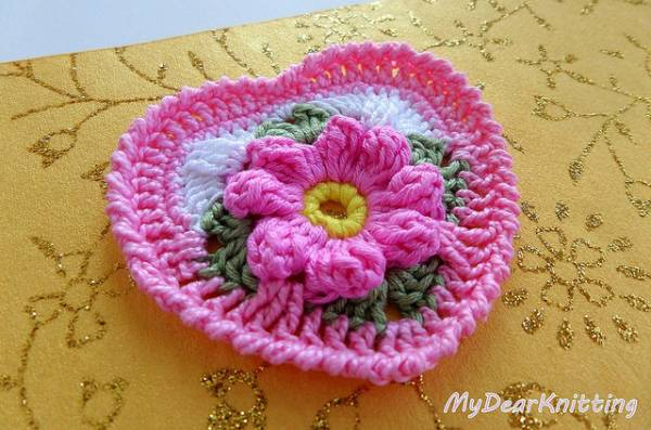 Crochet Heart Pattern And Tutorial
