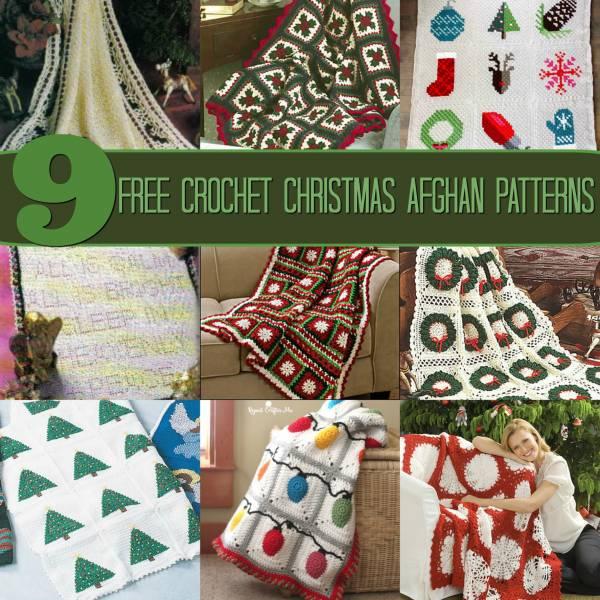 Christmas Afghan Patterns Crochet