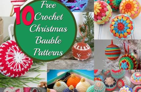 10 Christmas Crochet Baubles That Are Easy To Make