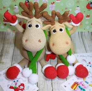 Crochet Pattern – Christmas Reindeer's