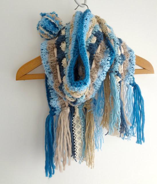 Boho Scarf Crochet Pattern