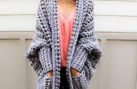 Free Pattern – Chunky Crochet Cardigan