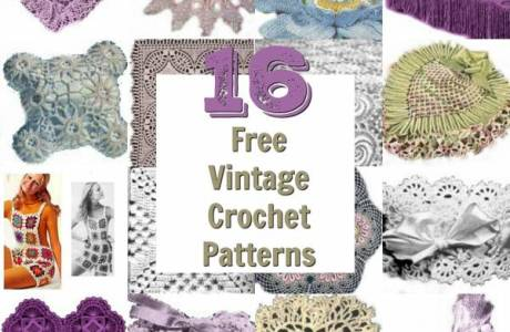 16 Vintage Crochet Patterns