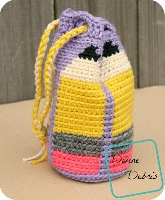 Back To School Bag Crochet Pattern