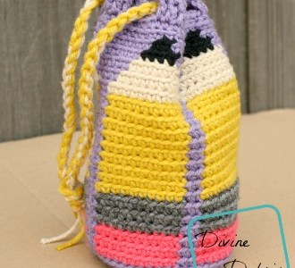 Back To School Bag Crochet Pattern