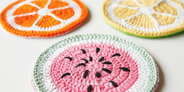 Fruity Potholder Crochet Pattern