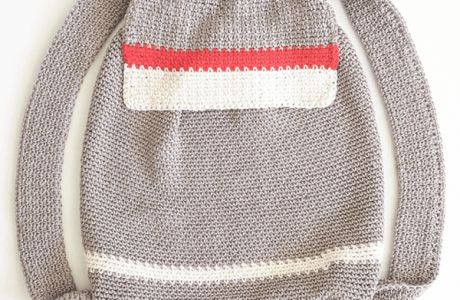 Color Block Backpack Crochet Pattern