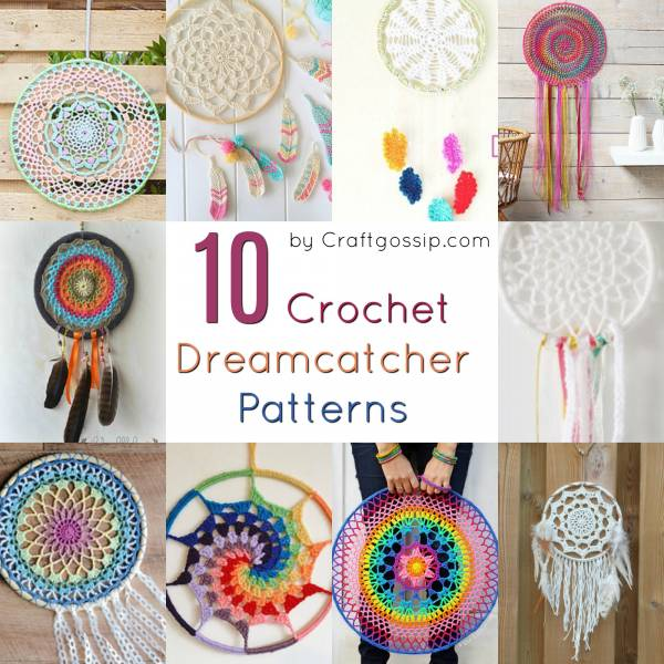 10 Free Crochet Dreamcatcher Patterns Crochet