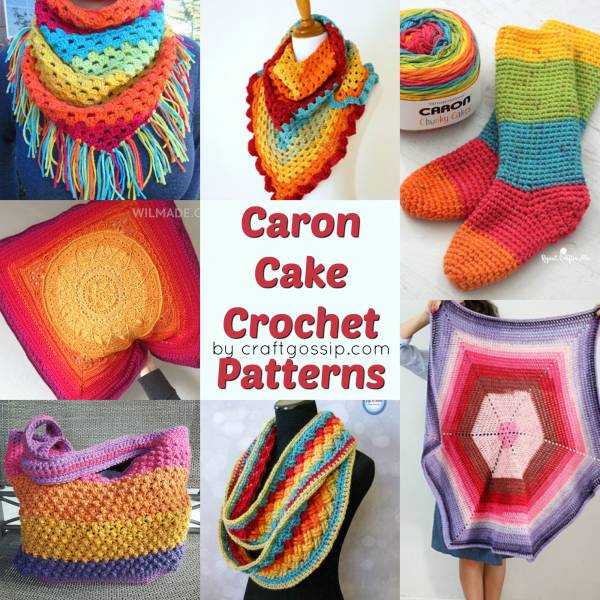 Free Caron Cake Crochet Patterns – Crochet