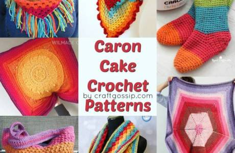 Free Caron Cake Crochet Patterns
