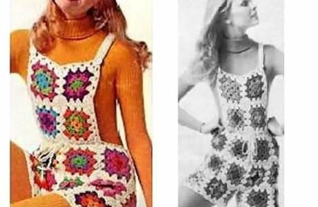 Vintage Overalls Crochet Pattern