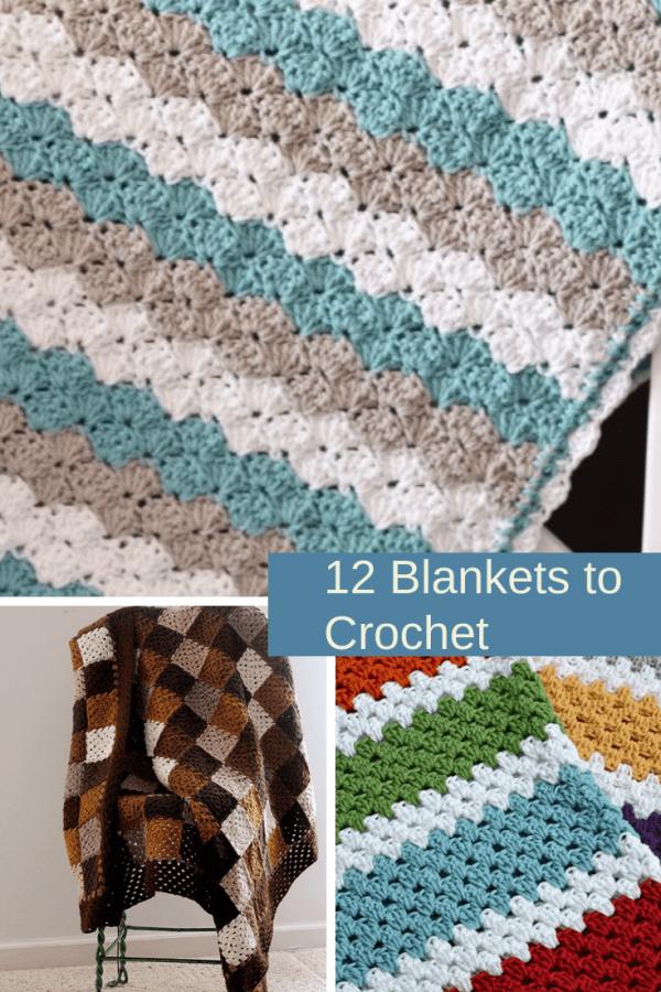 12 Patterns For Crochet Blankets