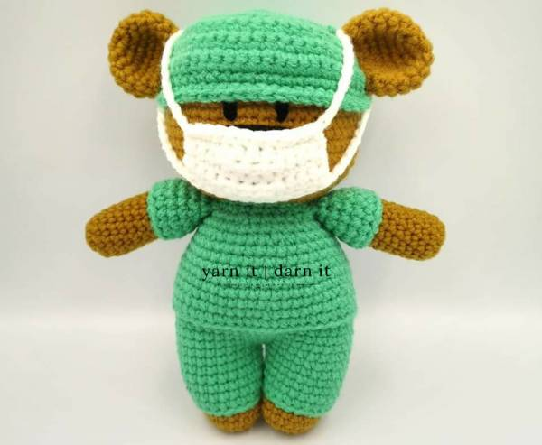 Cuddle Me Bear amigurumi pattern - Amigurumi Today | 493x600