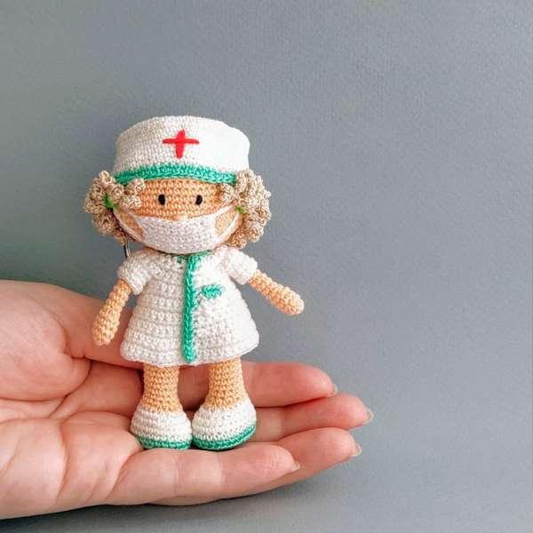 Crochet eBook: 100 Days of Mini Amigurumi VOL 1, PDF Amigurumi ... | 600x600