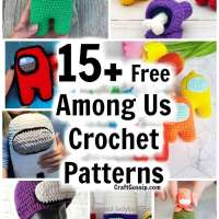 15+ Free Among Us Crochet Patterns