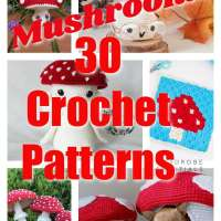30 Spring Time Mushroom Crochet Patterns