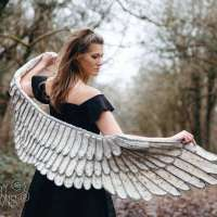 Angel Wings Shawl Crochet Pattern