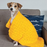 Make Your Own Comfort Crochet Anxiety Pet Blanket