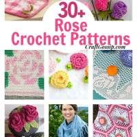 30+ Rose Crochet Pattern