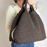 CROCHET PATTERN Arcadia Tote Bag