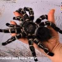 Crochet Pattern - Tarantula Bird Eating Spider
