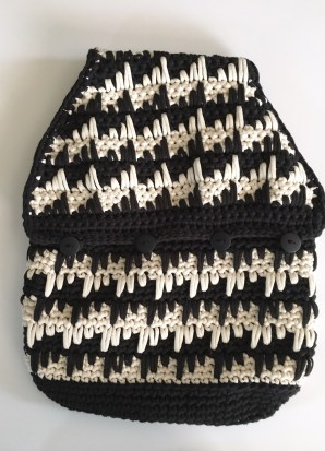 The black and white are striking, but it's time to brighten up my bag.