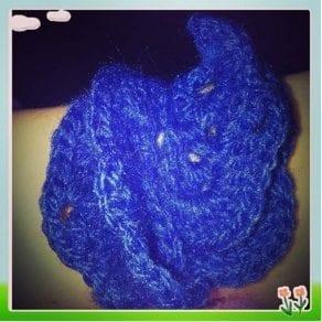 crochet flower bracelet free crochet pattern