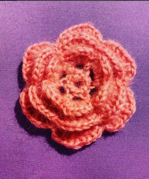 rose irish crochet