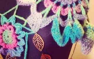 crochet bird bolero