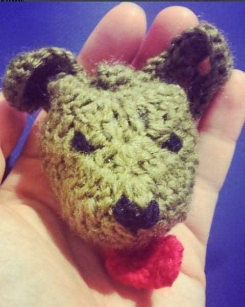 crochet pincushion