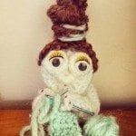 old knitting lady crochet pattern free
