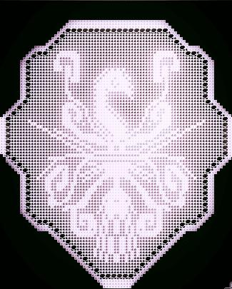 Phoenix Filet Crochet Pattern